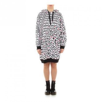 Moschino A 1716 9005 Sweatshirt women Swetry i bluzy Szary Dorośli