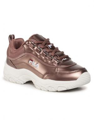 Fila Sneakersy Strada F Wmn 1010891.31A Brązowy