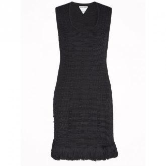 Bottega Veneta Dress Sukienki Czarny Dorośli Kobiety Rozmiar: S