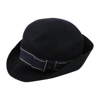 Armani Hat Akcesoria Czarny Dorośli Kobiety Rozmiar: S