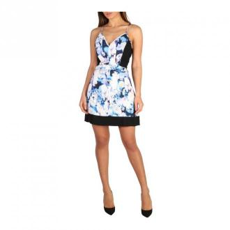 Calvin Klein Dress Sukienki Niebieski Dorośli Kobiety Rozmiar: L