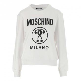 Moschino Sweatshirt Swetry i bluzy Biały Dorośli Kobiety Rozmiar: 42