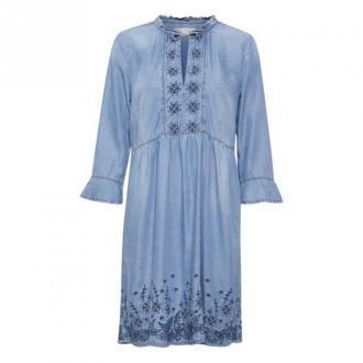 Cream Ellis Sukienka Sukienki Niebieski Dorośli Kobiety Rozmiar: S -