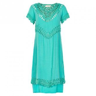 Cream Krem Ragnhild Kjole 10602356 P (Peacock turkusowy, 38) Sukienki