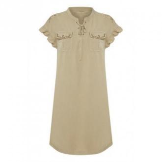 Cream Belena Dress Sukienki Beżowy Dorośli Kobiety Rozmiar: S - 36