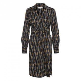 Cream Karoline Wrap Sukienka Sukienki Czarny Dorośli Kobiety Rozmiar: