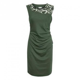Kaffe Indie Vivi Sukienka Sukienki Zielony Dorośli Kobiety Rozmiar: XL