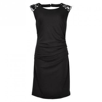 Kaffe Indie Cavity Kjole Sukienki Czarny Dorośli Kobiety Rozmiar: L