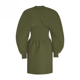 Bottega Veneta Dress Sukienki Zielony Dorośli Kobiety Rozmiar: M