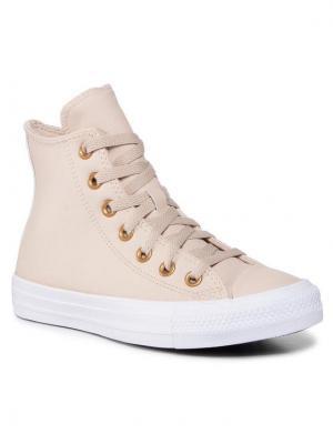 Converse Sneakersy Ctas Hi 568660C Beżowy