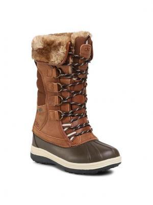 CMP Śniegowce Thalo Wmn Snow Boot Wp 30Q4616 Brązowy