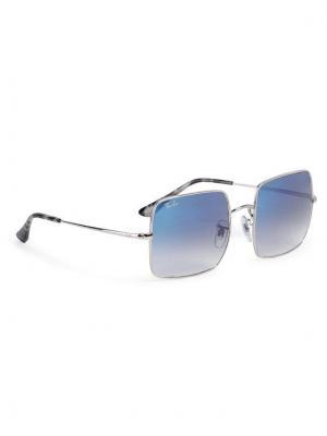 Ray-Ban Okulary przeciwsłoneczne Square 1971 Classic 0RB1971 91493F Srebrny