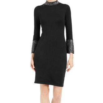 Calvin Klein Sweater Dress Sukienki Czarny Dorośli Kobiety Rozmiar: S