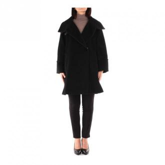 Marella Lipsia Long coat Płaszcze Czarny Dorośli Kobiety Rozmiar: 40