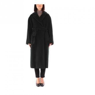Marella Long coat Płaszcze Zielony Dorośli Kobiety Rozmiar: 40 IT