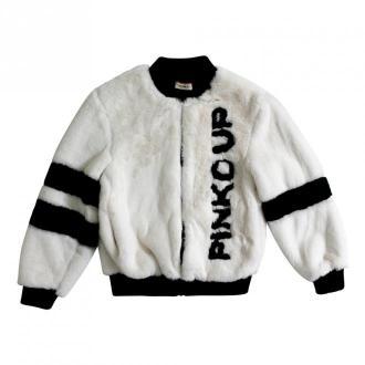 Pinko Coat Płaszcze Biały Dorośli Kobiety Rozmiar: L