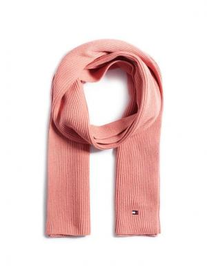 Tommy Hilfiger Szal Essential Knit Scarf AW0AW08775 Różowy
