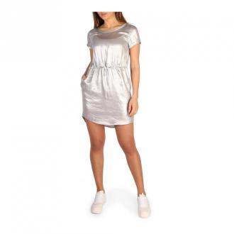Calvin Klein Dress Sukienki Szary Dorośli Kobiety Rozmiar: S
