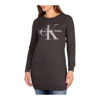 Calvin Klein Dress Sukienki Szary Dorośli Kobiety Rozmiar: XS