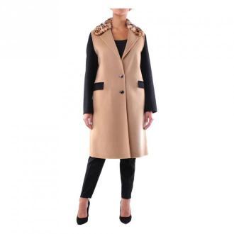 Pinko 1B13Bzy4Zn Long coat Płaszcze Czarny Dorośli Kobiety Rozmiar: 42