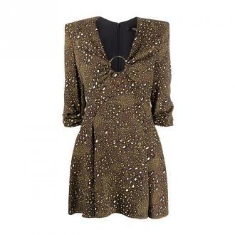 Versace Dress Sukienki Brązowy Dorośli Kobiety Rozmiar: 2XS - 38 IT