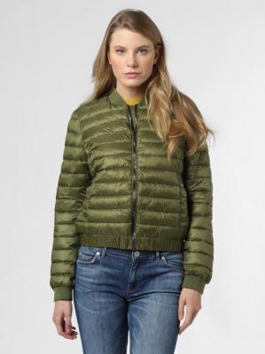 comma - Damska kurtka pikowana, zielony