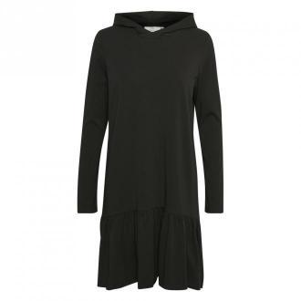 Kaffe dana Linda Hoodie Dress Sukienki Czarny Dorośli Kobiety Rozmiar: