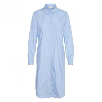 Kaffe merama Koszula Sukienka Sukienki Niebieski Dorośli Kobiety