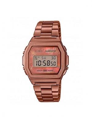 Casio Zegarek Vintage A1000RG-5EF Brązowy