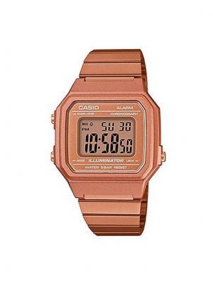 Casio Zegarek B650WC-5AEF Brązowy