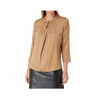 Hugo Boss Lyabo Bluzki i koszule Brązowy Dorośli Kobiety Rozmiar: 40