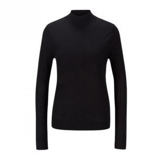 Hugo Boss Faliana Swetry i bluzy Czarny Dorośli Kobiety Rozmiar: M