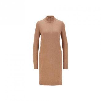 Hugo Boss Fabelletta Sukienki Brązowy Dorośli Kobiety Rozmiar: L