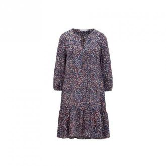 Hugo Boss C Demmei Dress Sukienki Fioletowy Dorośli Kobiety Rozmiar: