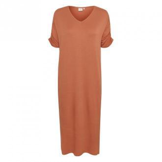 Cream Długa suknia Sukienki Pomarańczowy Dorośli Kobiety Rozmiar: M