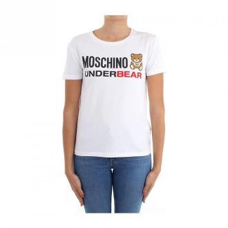 Moschino T-shirts Koszulki i topy Biały Dorośli Kobiety Rozmiar: S