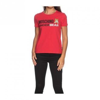Moschino T-shirt Koszulki i topy Czerwony Dorośli Kobiety Rozmiar: S
