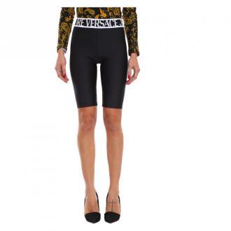 Versace Leggings Spodnie Czarny Dorośli Kobiety Rozmiar: 44 IT