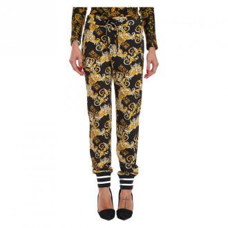 Versace Pants Spodnie Żółty Dorośli Kobiety Rozmiar: 38 IT