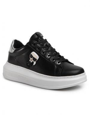 KARL LAGERFELD Sneakersy KL62530 Czarny