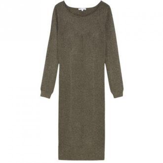 Patrizia Pepe Dress Sukienki Zielony Dorośli Kobiety Rozmiar: S - 36