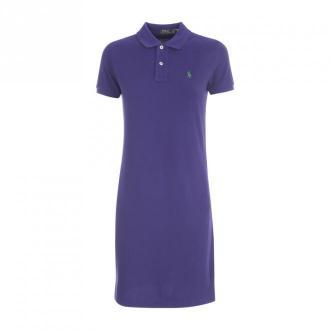Polo Ralph Lauren Casual Dress Polo Sukienki Niebieski Dorośli Kobiety