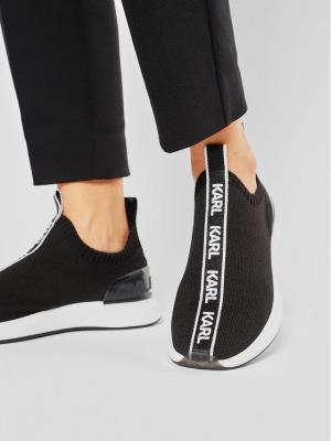 KARL LAGERFELD Sneakersy KL62115 Czarny