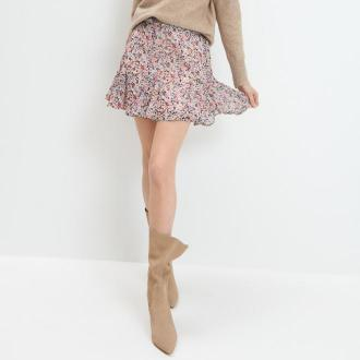 Mohito - Spódnica w kwiatowy wzór - Wielobarwny