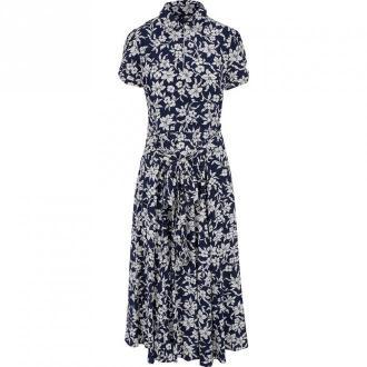 Polo Ralph Lauren Dress Sukienki Niebieski Dorośli Kobiety Rozmiar: XS