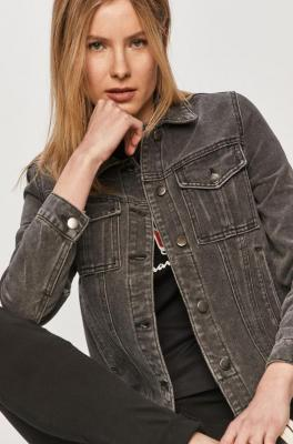 Vila - Kurtka jeansowa