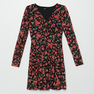 Cropp - Ladies` dress - Czarny