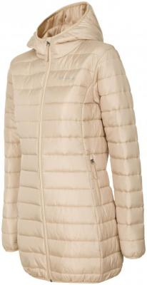 Płaszcz damski Everhill KUD704 brązowy, beżowy L