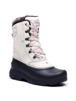 CMP Śniegowce Kinos Wmn Snow Boots Wp 2.0 38Q4556 Beżowy