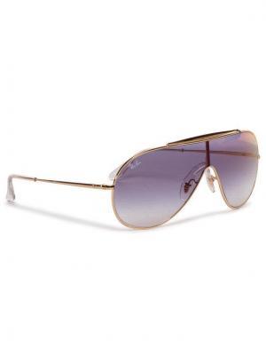 Ray-Ban Okulary przeciwsłoneczne Wings 0RB3597 001/X0 Złoty